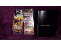 ps3 original style 7 games power lead no controllers