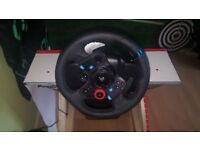 logitech g 29 shifter and pedals and Playseat Seat Slider Racing Chair