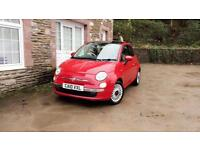 Fiat Lounge 500 1.2 petrol 5 speed manual * long mot * 1 previous owner * low mileage