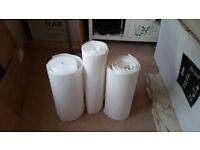 Polysterine wallpaper insulation