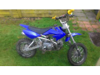 125 CC Pit Bike Lifan ( for parts or not working )