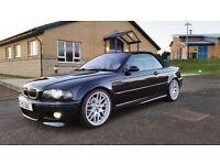 2002 BMW M3 SMG CONVERTIBLE CARBON BLACK 100,000 MILES HUGH SPEC PRIVATE REG