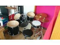 Full Size Used Drum Kit