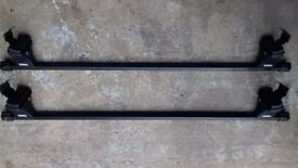 Thule roof bars and fitting kit