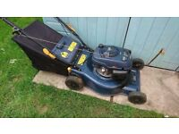 5.5 hp self propelled indusrial lawn mower!