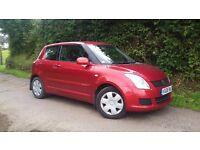 2008 08 Suzuki Swift 1.3 GL - Low Insurance - Only 52000 Miles - Full Suzuki Service History