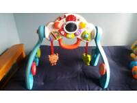 Baby activity centre and walker