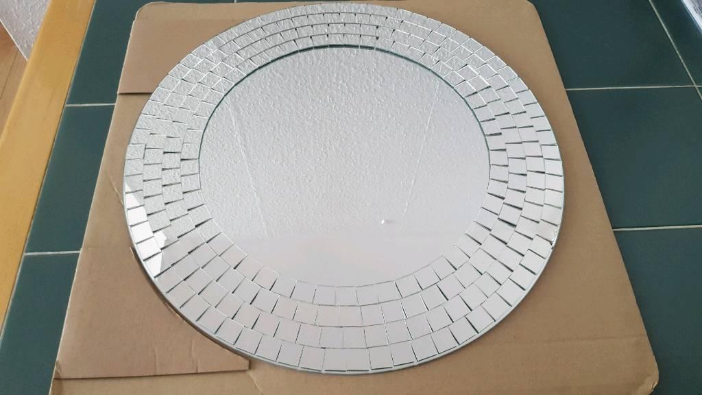 Ikea Tranby Mosaic Frame Mirror 50 Cm