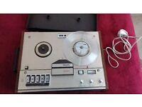 Phillips N4307 reel to reel tape recorder