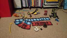 Ninjago and chima lego