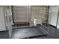 AS NEW LARGE DOG CAGE