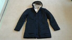 BNWT American Apparel RSACT402 Winter Jacket, Midnight Navy, Size M. Made in USA