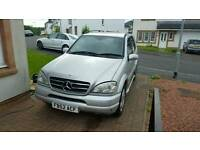 2003 MERCEDES ML 500, LPG CONVERSION, AMG ML55 LOOK