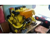 VETUS 3 CYL 23 HP DIESEL BOAT ENGINE FOR SALE.