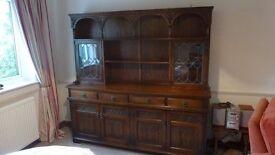 oak dresser antique style old charm make