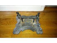 Victorian Style Cast Iron Boot Scraper