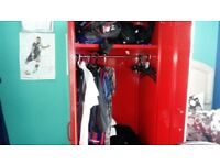 BOYS WARDROBE AND LOCKER STORAGE SET : NEXT