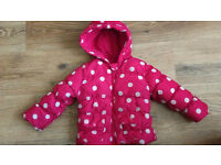 Two Girls Jackets 9-12 months
