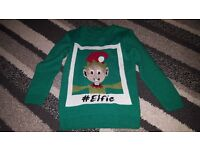 christmas jumper aged 8-9 years