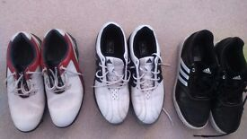 Golf Shoes Junior Boys . Adidas and Footjoy. Will sell together or split