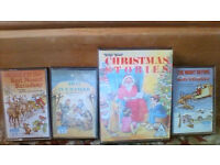 10 Christmas cassettes, childrens' songs and stories, carols