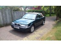 Rover 216 SE Cabriolet British Racing Green 1.6 K-Series Sidmouth
