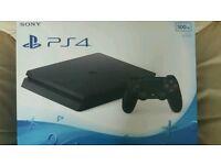PlayStation 4 SLIM Boxed