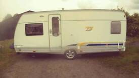 Burstner s500ts caravan 2005
