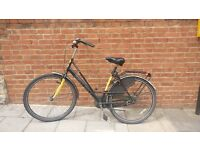 Vintage Dutch bike + u-lock + lights, comfortable, full working condition, cheap (I'm moving out!!)