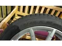 Pirelli P zero 255/40r19 set, audi rated 7mm tread