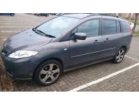 2007 Mazda5 2.0 Sport 7 seats MPV 5dr Petrol Grey Excellent Family Cheap Car Slide Sliding Doors