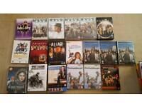 127 dvds plus box sets