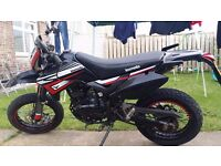 EXTREMELY LOW MILEAGE 2015 LEXMOTO ADRENALINE 125CC TRIAL'S BIKE