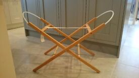 Moses basket stand from m&s