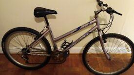 Bicycle 26'' wheels, 19''frame, 18 gears