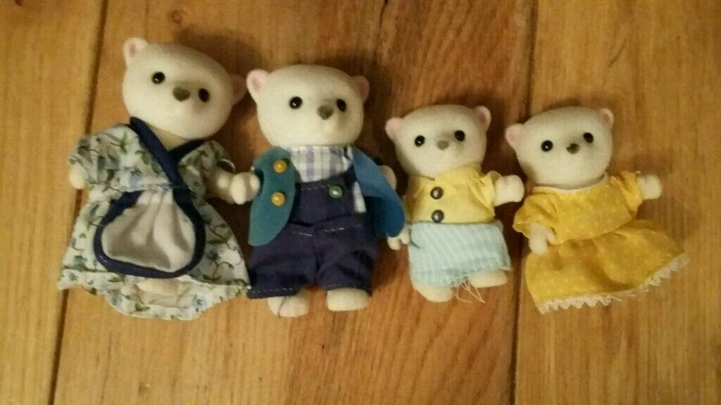 Sylvanian families polar bear family | in Blantyre, Glasgow | Gumtree