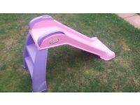 Little tikes slide pink
