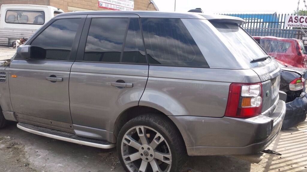 RANGE ROVER TAILGATE GREY 2007 SP HSE