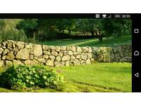 Required!! Dry stone walling, field stones or stone building.