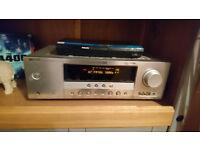 Yamaha RX-V361 AV receiver with 2 Floor Standing Pair Of Speakers