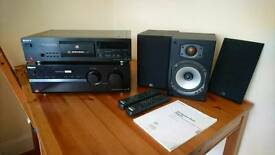 Sony Amplifier and CD Player - separates