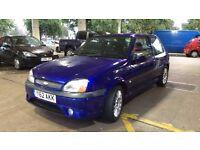2001 Ford Fiesta Zetec S 1.6 (No rust)
