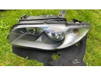 BMW 1 series halogen passenger headlight