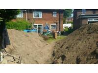 Free top soil - no clay. Bulk takers only