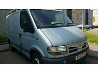 Nissan interstar sl28 90dci *spares or repair *