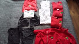 bundle of clothes , school uniform, sylvan infant school