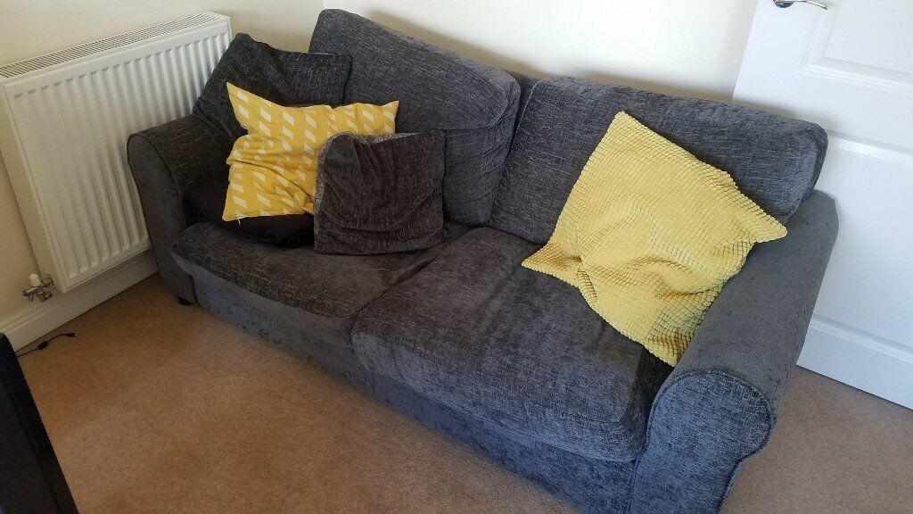 Astonishing 2 Seater Sofa Bed Dark Grey Argos Tammy In St Albans Hertfordshire Gumtree Machost Co Dining Chair Design Ideas Machostcouk