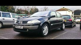 Immaculate Black Renault Megane