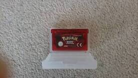 For sale pokemon Ruby for gameboy