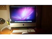 "APPLE iMac 24"" Desktop Computer PC 4GB Ram 320GB HDD 2.4GHz"